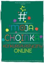 """Konkurs plastyczny online """"Moja choinka"""""""
