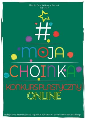"Plakat "" Moja choinka"""
