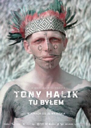 """plakat Tony Halik """"Tu byłem"""""""