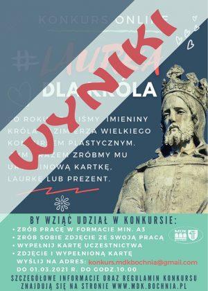 Plakat Laurka dla króla wyniki